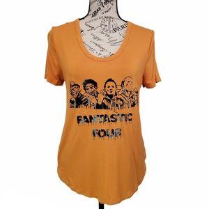 Halloween Orange Women's Top